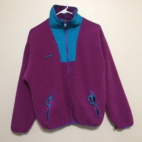 7b7fff266c5393 Columbia Jackets   Blazers - Women s Large Columbia VINTAGE 90s Full Zip  Jacket